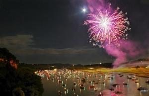 Fireworks in Austin
